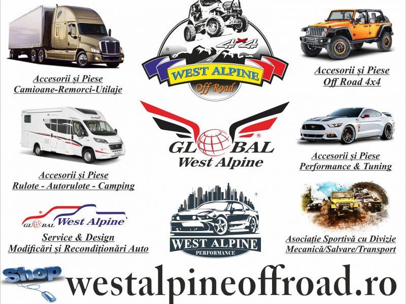 West Alpine Off Road 4x4 Romania Oradea Piese si Accesorii Auto Off Road Profesionale Camioane Remorci Camping ATV Camper Europa - - Copie